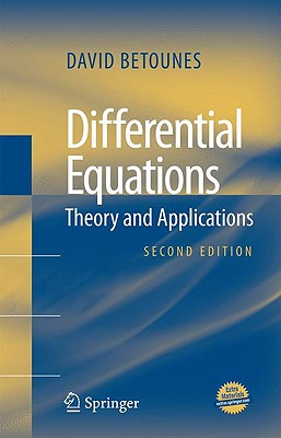 Differential Equations By Betounes, David